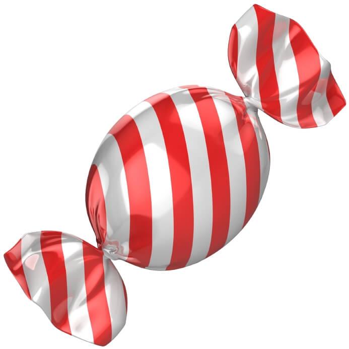Bonbons im Einsatz gegen Karies